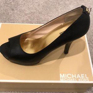 MICHAEL Michael Kors Miami open toe pumps